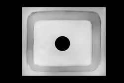 Upright Deep Drawn Square Single Bowl Sink