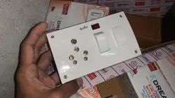 5 In 1 Switch Socket Combined With Indicator
