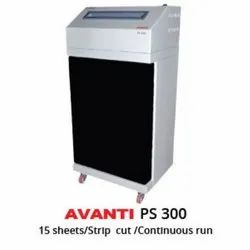 Avanti PS-300 Paper Shredder Machine