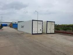 Dual Machine Refrigerated Container On Rental For Pharma