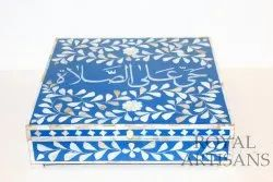 Mother Of Pearl Inlay Jewelry Box