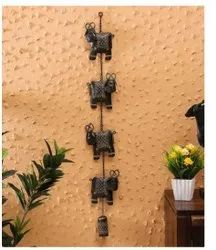 Brown Metal Home Decor Wall Hanging, Size: 41