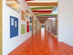 2-3 Months School Interior Designing Services