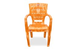 Avro 1155 Sandalwood Molded Plastic Chair