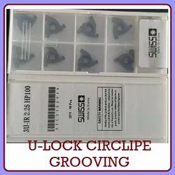 SWISS-STAR Carbide U-Lock 16IR Circlip Grooving, For Industrial