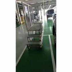 Two Step Aluminum   Platform Ladder