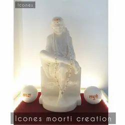 Worship Marble Sai Baba Statue