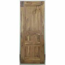 Woodtech 3 Panel Decorative Veneer Door, Thickness: 35mm, Size/Dimension: 8 Feet X 3 Feet