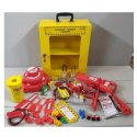 Safety Valve And Electrical Lockout Kit With Box