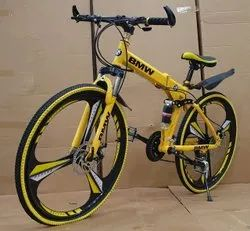 Bmw Yellow  Foldable Cycle
