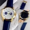 Round Luxury(premium) Fossil Watch For Men, For Daily