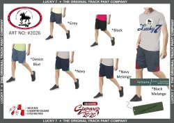 6 Colors cotton 2026 Designer Track Shorts