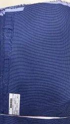 Blue Corporate Uniform Shirting Fabric, Machine wash
