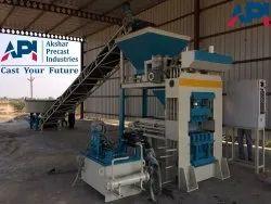 Semi Automatic Cement Ash Brick Machine