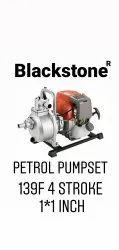 Black Stone Petrol Engine Water Pump