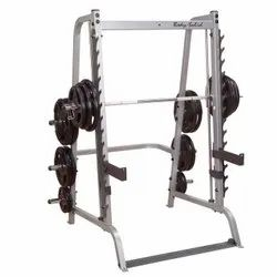 Body Solid - Gs348Q Linear Bearing Smith Machine Include Gun Rack Safe