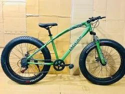 JAGUR GREEN FAT TYRE CYCLR