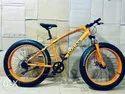 Jaguar Orange Fat Tyre Cycle
