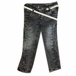 Regular Button Ladies Jeans, Waist Size: 22x30