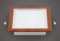 LED Crystal Square Down Light