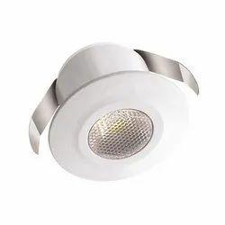 2 W Cool White Polycab Spot Light