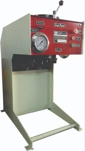 Vertical Hydraulic Pipe Crimping Machine