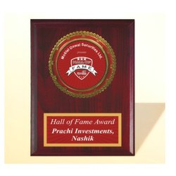 FP 10758 Golden Certificate Memento
