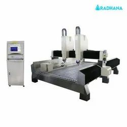 Double Head Stone Router Machine