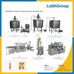 Synthetic Ready To Drink Juice Plant Turnkey Project