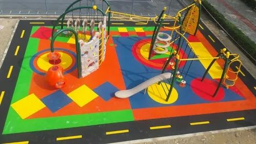 Children Playing Area EPDM Outdoor Flooring