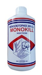 Monocrotophos 36% SL, For Agriculture, Packaging Size: 1L