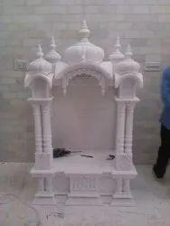 Palki Design White Marble Decor Home Temple