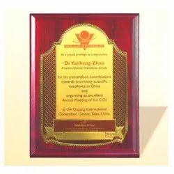 FP 10754 Golden Certificate Memento