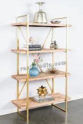 Golden Rack For Home And Office