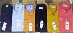 Full Sleeves various Cotton Plain Shirts