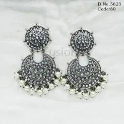Victorian Kundan Earrings