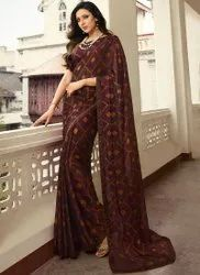 SIYA FASHION Casual Wear printed saree, With Blouse Piece, 5.5 m (separate blouse piece)