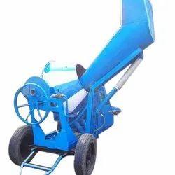 Diesel Engine Hydraulic Hopper Concrete Mixer Machine, Drum Capacity: 1000 L