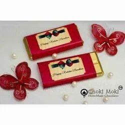 Choki Moki Rectangular 70 Gm Chocolate Bar Gift Hamper
