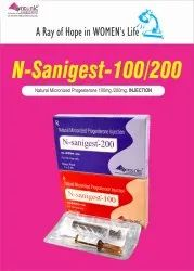 N-sanigest 200 Injection Natural Progesterone 200mg