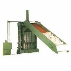 Cotton Baling Press With Lattice Conveyor (Semi Automatic)