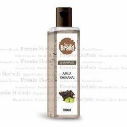 Herbal Amla Shikakai Shampoo, For Hair, Packaging Size: 100 Ml