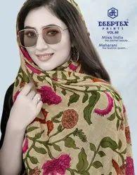 Deeptex Miss India Vol-60 Printed Cotton Dress Material Hit Series Catalog