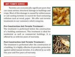 5 - 7 Days Anti Termite Pest Control Service
