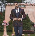 Mens Designer 3 Piece Suit