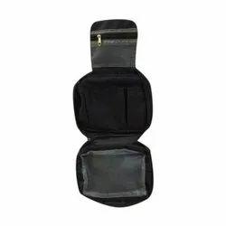 Polyester Black Travel Kit Bags