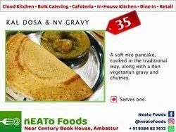 Indian Kal Dosa & Non Vegetarian Gravy, Chennai, Live Counters