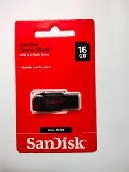 Sandisk Pen Drive 16gb New