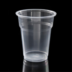250 Ml Transparent Plastic Glass