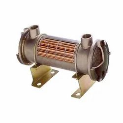 SHE Copper Water Cooled Heat Exchanger, For Industrial, Oil